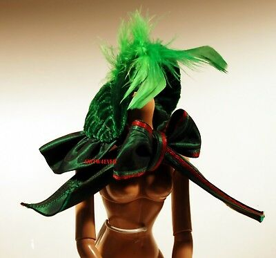 PARIS HAT for TONNER SCARLETT O'HARA TYLER CUSTOM MADE  OOAK  GONE WITH THE WIND