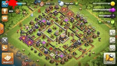 Clash of Clans Account (TH11, Level 169)