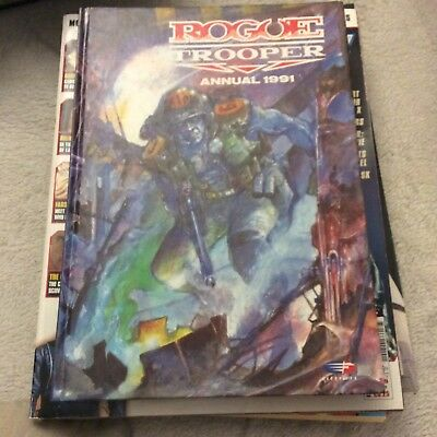 Rouge Trooper annual 1991 - Mint Condition - 2000AD