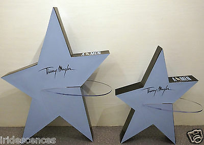 2 Présentoir Thierry MUGLER Amen 75x57cm angel men A*Men Stand-up plv collection