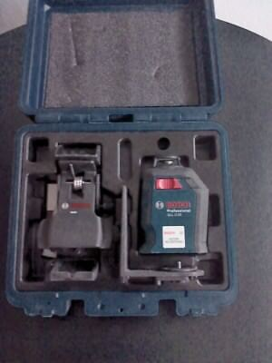 Bosch GLL 2-20 360-Degree Self-Leveling Line and Cross Laser with case