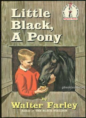Little Black a Pony by Walter Farley 1961 Illustrated by James Schucker 1st DJ