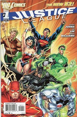 Justice League #1 (NM)`11 Johns/ Lee (Cover A)