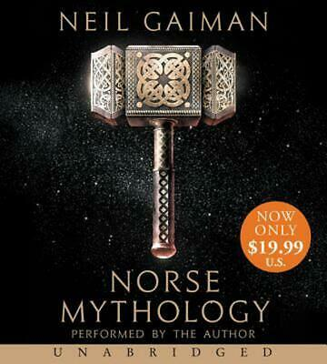 Norse Mythology [Unabridged CD] by Neil Gaiman Compact Disc Book Free Shipping!