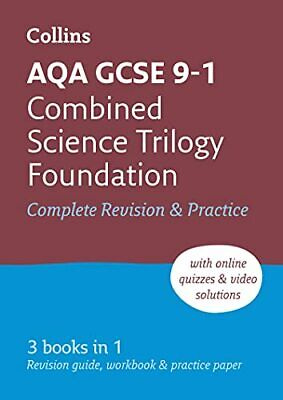 Grade 9-1 GCSE Combined Science Trilogy Foundation AQA All-in... by Collins GCSE