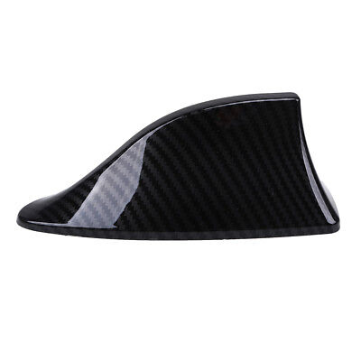 Carbon Fiber Car Shark Fin Roof Antenna Radio FM/AM Decorate Aerial Fit for BMW