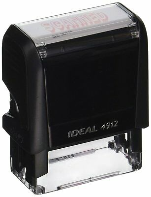 """Ideal 4912 Text Stamp 3/4"""" x 1-7/8"""""""