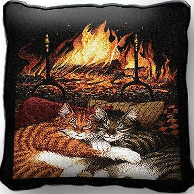 """17"""" x 17"""" Pillow - All Burned Out 895"""