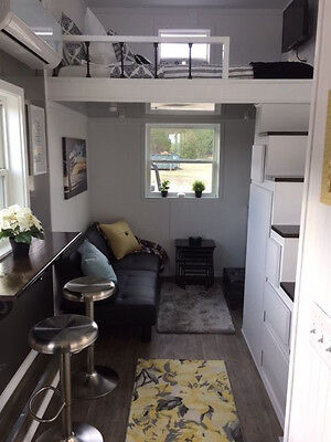 """""""Brand New"""" Fully Furnished 8'6"""" wide x 20' long TINY HOUSE Available Now"""