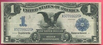 Docs Beautiful $1.00 Black Eagle Note Series 1899 - Solid XF Condition Note! NR!