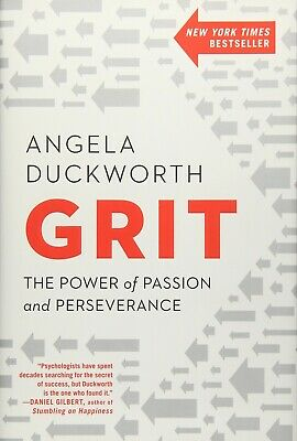 *New Hardcover* GRIT: THE POWER OF PASSION AND PERSEVERANCE by Angela Duckworth