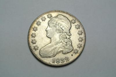 1832 Capped Bust Half Dollar, A. XF Condition - C5328