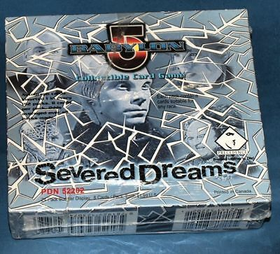 BABYLON 5 CCG: SEVERED DREAMS Display Box 24 Booster! je 8 Cards! auf englisch!