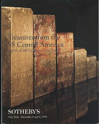 """""""Treasures From the SS Central America"""" 1999 Sotheby's Catalog"""