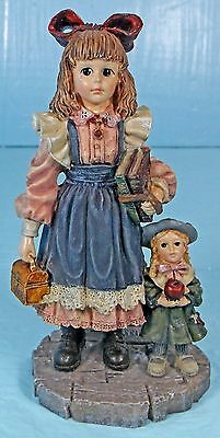 1997 Boyds Yesterday's Child The Victorian Series #2 First Day Of School #3522