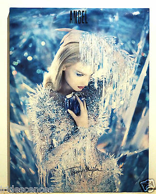 rare Présentoir Thierry MUGLER ANGEL 80x60 cms parfum plv collection flacon pub