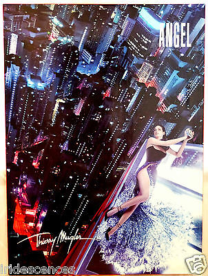 rare Présentoir Thierry MUGLER ANGEL 111x80cms parfum plv collection