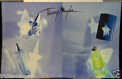 rare Présentoir Thierry MUGLER 149x96 cms parfum plv collection flacon pub