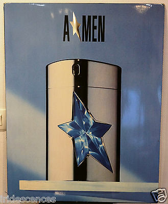rare Présentoir Thierry MUGLER AMEN 80x60 cms parfum plv collection flacon pub