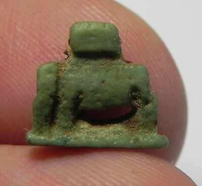 Zurqieh -As3661- Ancient Egypt, Faience Amulet Of A Sow. 600 - 300 B.c