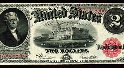 $2 1917 United States Note  ** MORE CURRENCY FOR SALE **