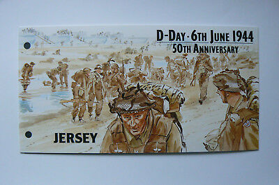 Jersey Presentation Pack , D-Day , Individual Stamps