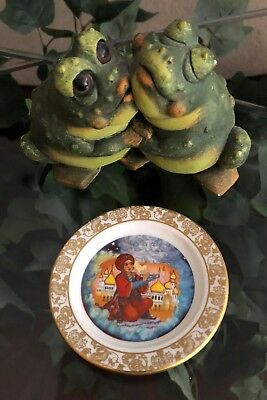 Franklin Porcelain~The Best Loved Fairy Tales~Aladdin and the Wonderful Lamp 79