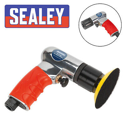Sealey Air Polisher 75mm Mini Air Polishers Quality Work Tools GSA722