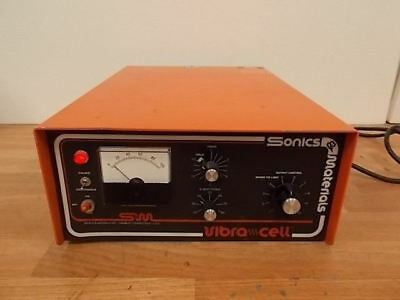 Sonic Materials Vc500 Homogenizer Working Free Shipping