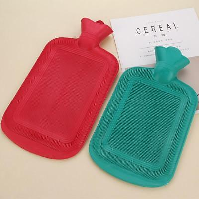 Sale Thick Rubber Hot Water Bottle Bag Relax Heat Cold Therapy Size L