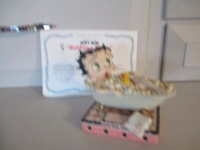 "Rare Retired Betty Boop ""bathing Betty"" Collectible Figurine By Danbury Mint"