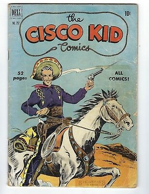 CISCO KID COLORING Book 1314 Gene Autry Chuck Wagon Chatter 1953