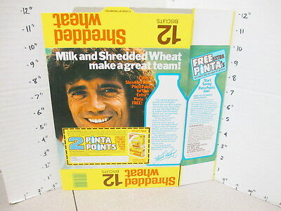 cereal box UK 1980s Nabisco Shred Wheat Kevin Keegan Liverpool soccer player