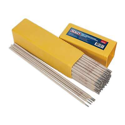 Sealey Welding Electrodes Stainless Steel Ø3.2 x 350mm 5kg Pack Welders DIY