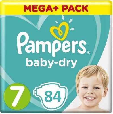 Pampers Baby Dry Gr 6 + Plus  Extra Groß Windeln 16+kg  Micro Pearls 76 St