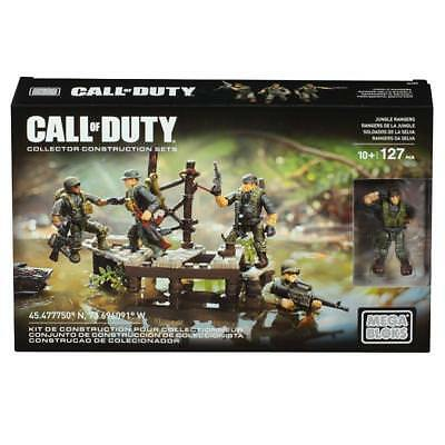 Call Of Duty Mega Bloks Jungle Rangers Collector Construction Set