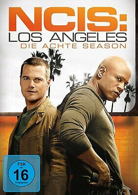 NCIS: Los Angeles (Navy CIS LA) - Season/Staffel 8 # 6-DVD-NEU