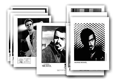GEORGE MICHAEL  - 10 promotional photos - collectable postcard set # 2