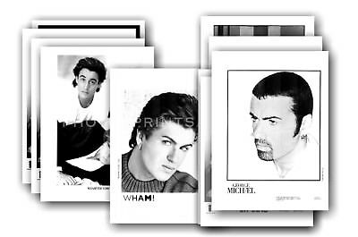 GEORGE MICHAEL  - 10 promotional photos - collectable postcard set # 3