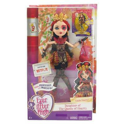 """Ever After High Lizzie Hearts 9"""" Fashion Doll Mattel Toy"""