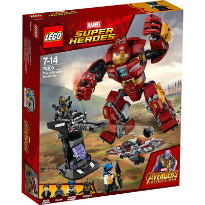 LEGO Super Heroes Avengers Infinity War The Hulkbuster Smash-Up 76104