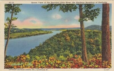 Ohio River, the Northern Boundary of Kentucky ngl E9132