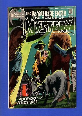 House Of Mystery #193 Fn Bronze Age Dc Horror Comics Bernie Wrightson Cover