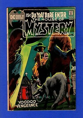 House Of Mystery #193 Fn+ Bronze Age Dc Horror Comics Bernie Wrightson Cover