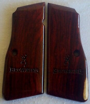BROWNING HIGH POWER GRIPS COCOBOLO WOOD A-50 l@@k