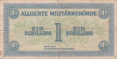 1 Schilling Fine  Banknote From Allied Forces In Austria 1944!pick-103!