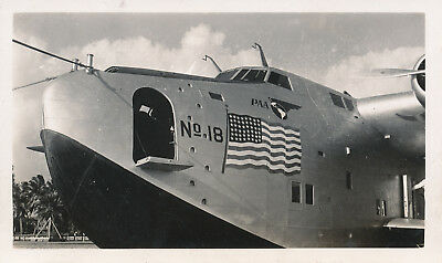 late 1930s-40s  airplane Hawaii Photo #3 Pan Am Clipper