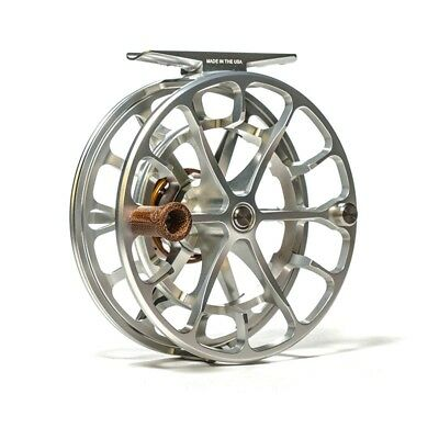 New 2018 Ross Evolution Ltx 4/5 Fly Reel Platinum Silver Made In Usa - In Stock!