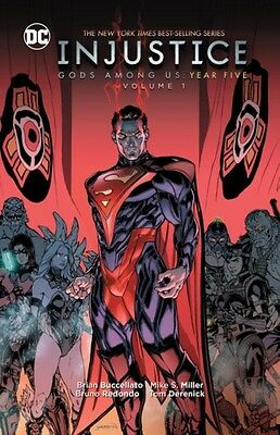 INJUSTICE GODS AMONG US YEAR FIVE VOL 1, Buccellato, Brian, 97814...