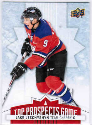 17/18 2017 UD UPPER DECK CHL HOCKEY TOP PROSPECTS GAME CARDS TP U-Pick From List